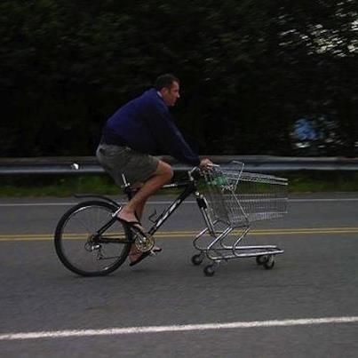 The Man Is An Upcycling Genius Bike Cart Bicycle Cargo Bike
