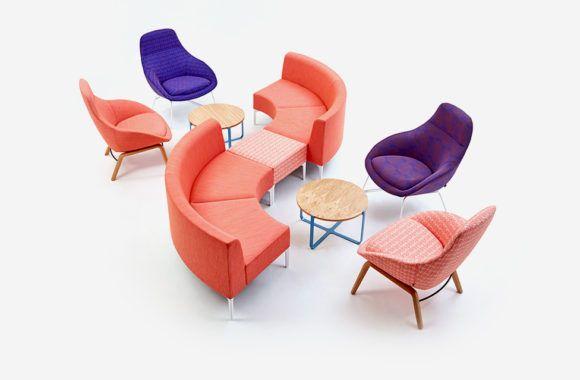 Excellent Naughtone Always Lounge On Oak Base Symbol Modular Sofa Cjindustries Chair Design For Home Cjindustriesco