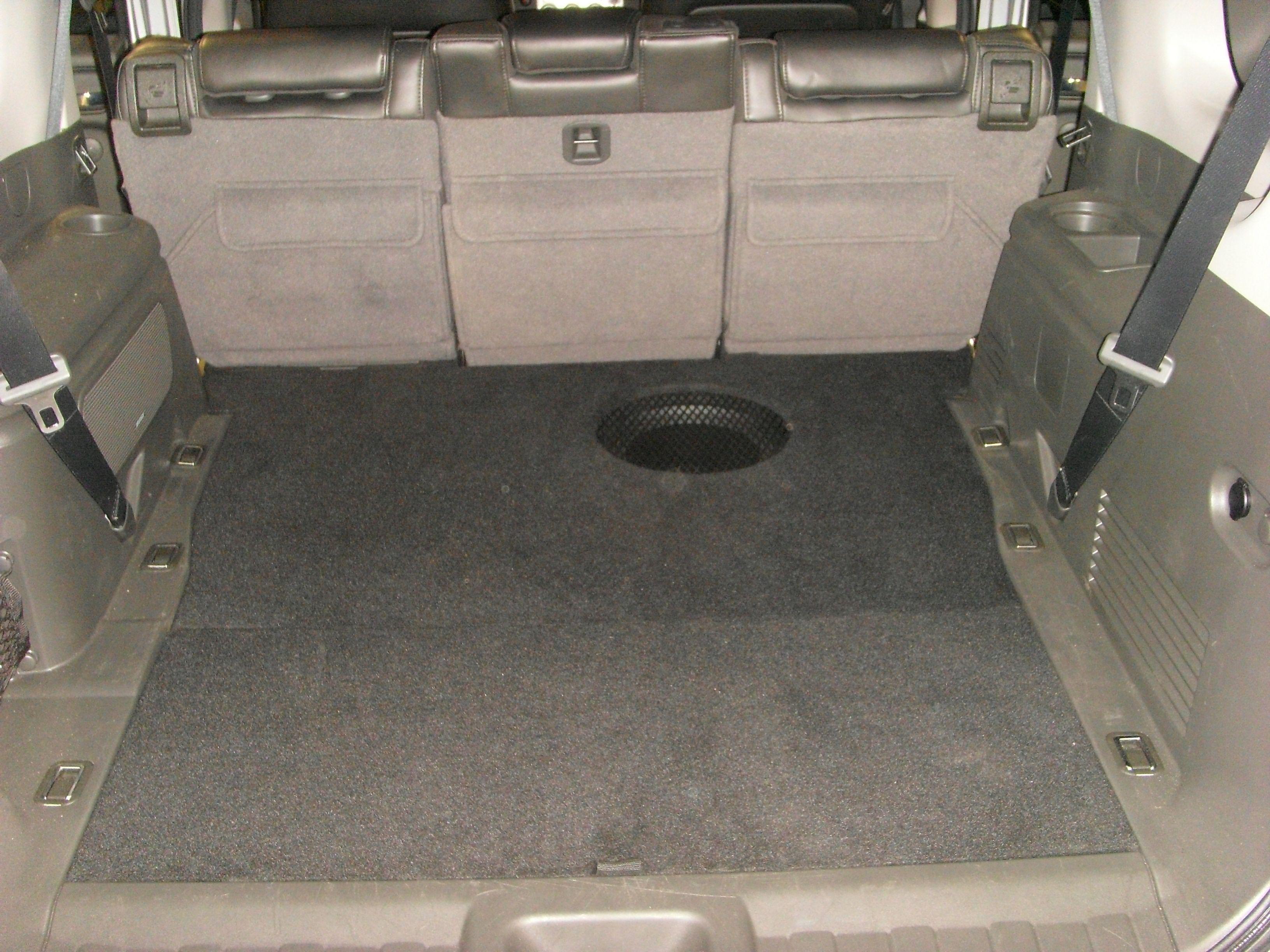 Pathfinder False Floor And Subwoofer Car Audio Installation Car