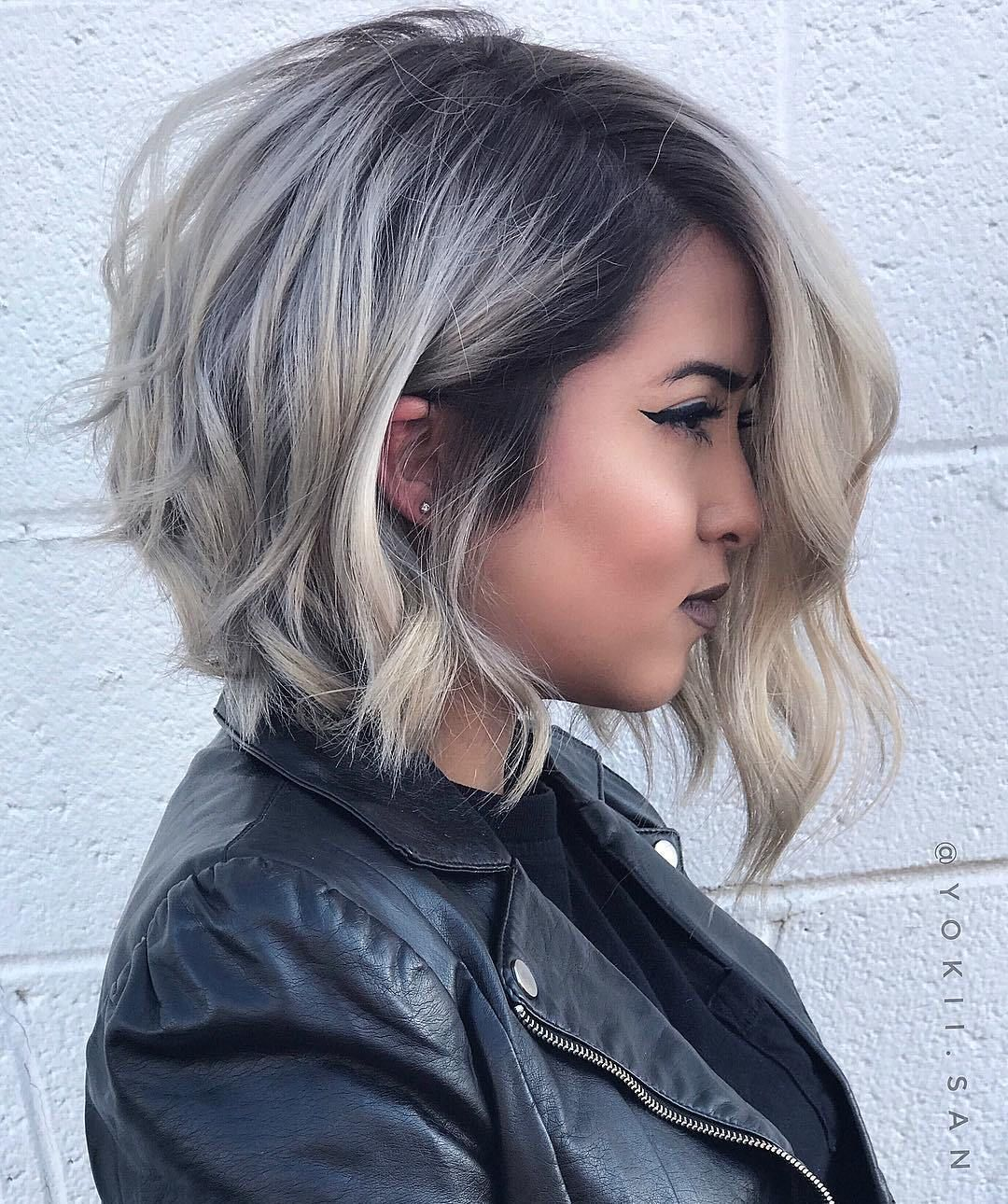 11 Super Cute Looks with Short Hairstyles for Round Faces in 11