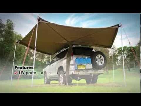 Foxwing Awning 31100 Rhino Rack Awning Teardrop Trailer Outdoor Decor