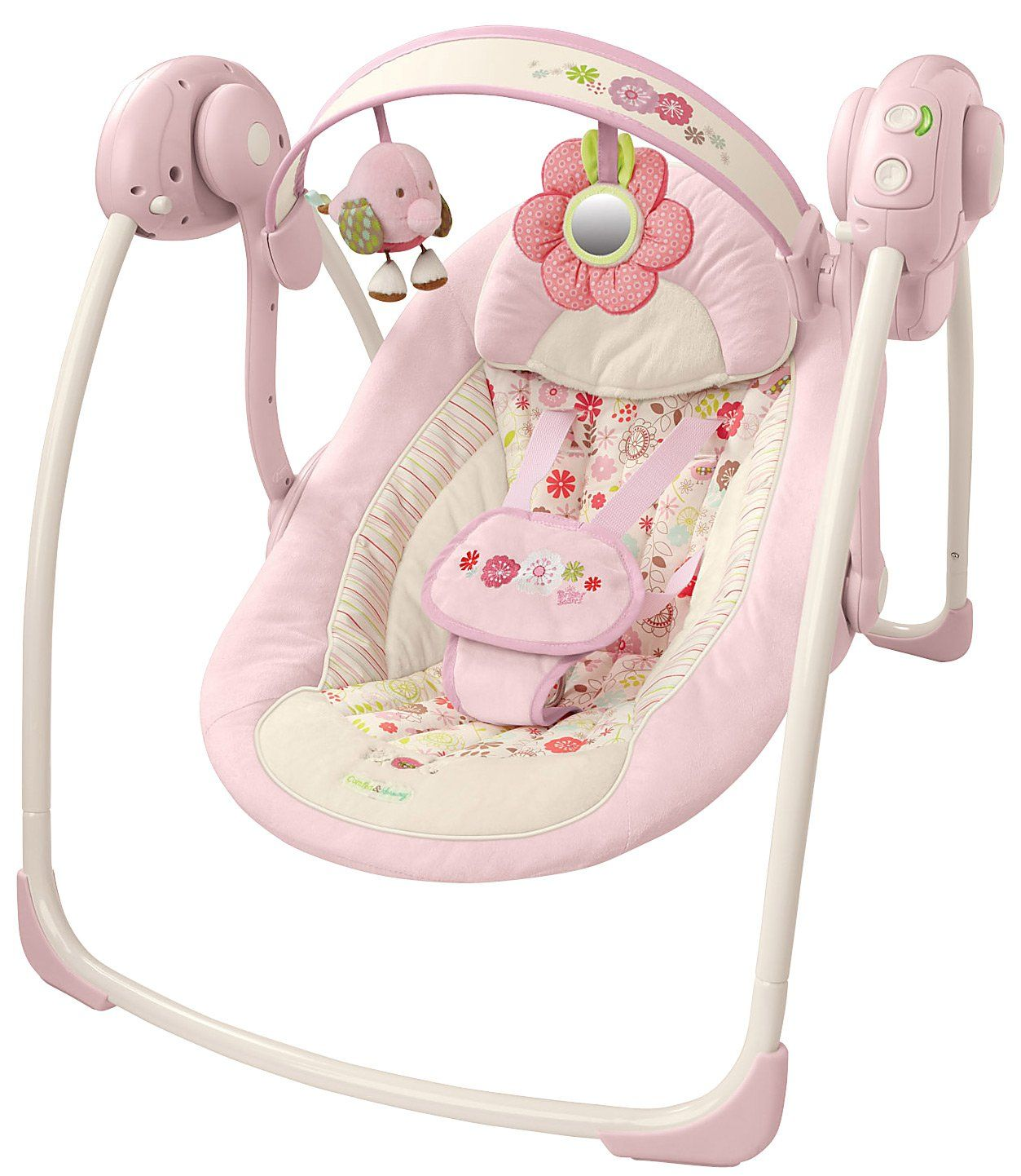 Bright Starts Comfort Harmony Portable Swing Vintage Garden Bright Starts Baby Swings Baby Rockers Bouncer