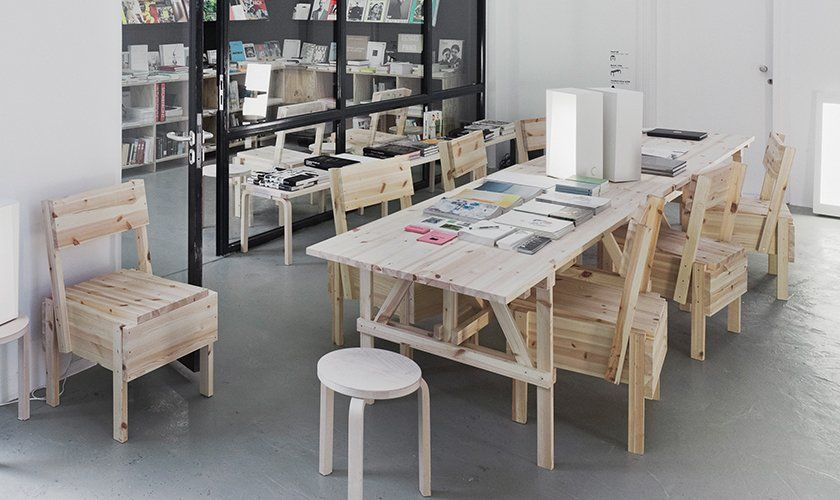 artek sedia chair pinterest enzo mari wood furniture and woods