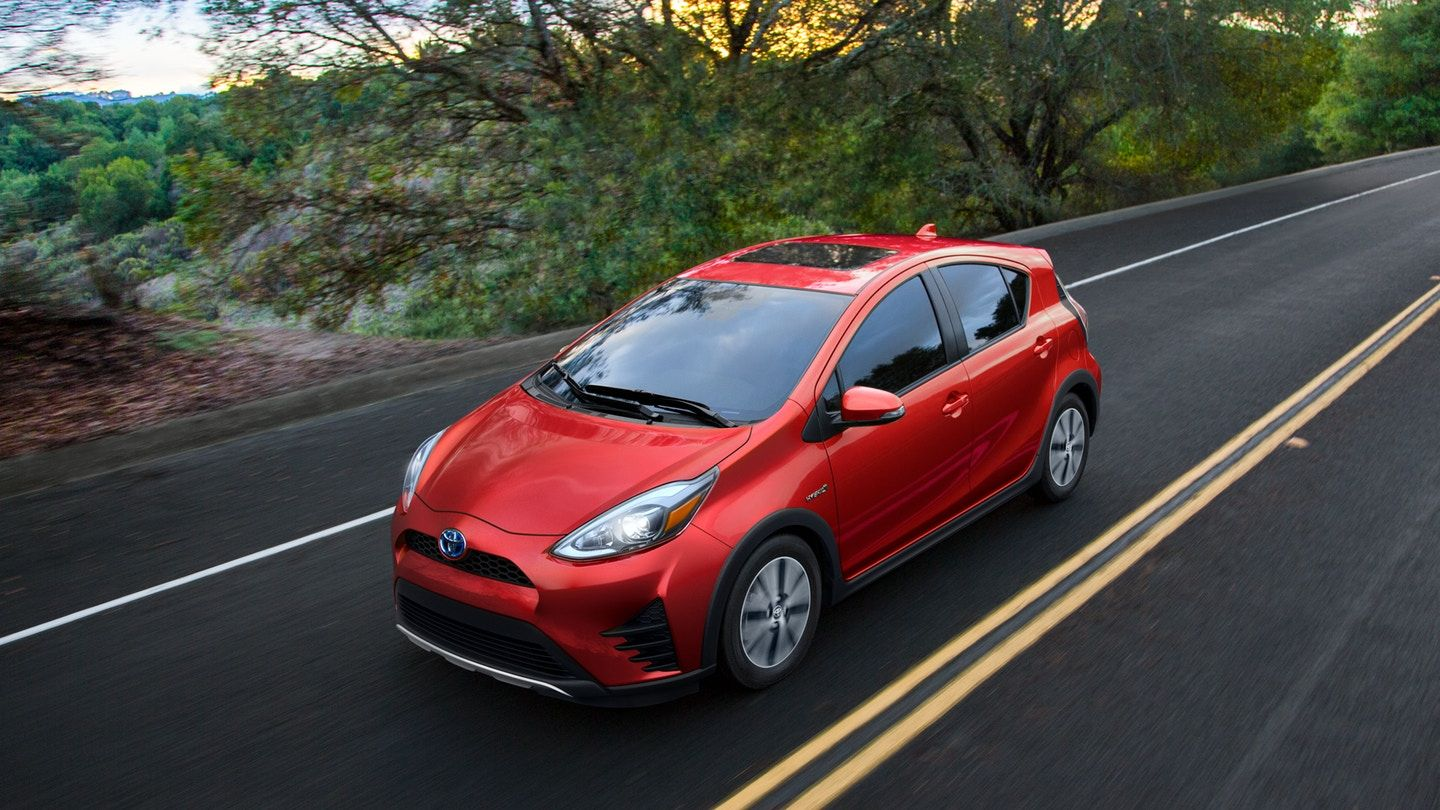 2018 Toyota Prius C Cheapest but Also in