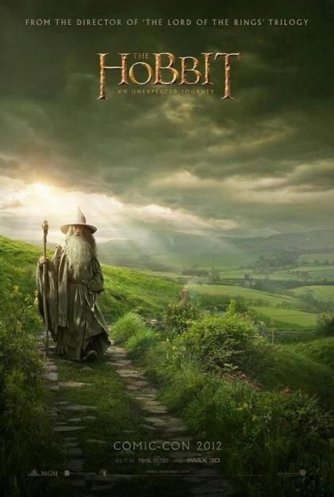 The Hobbit  The trailers have been very engaging for the first film. Looking forward to it.