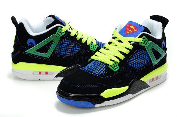 53371e870b6 Superman JORDAN Shoes | Kids Air Jordan 4 Superman | We Are Jordan ...