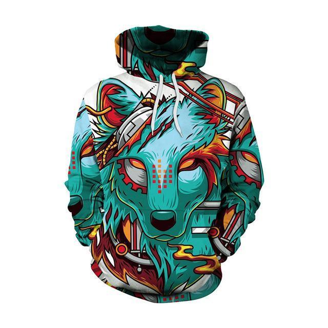 Doxi Unisex Hoodie Skull 3D Print Sweatshrit Men Women Long Sleeve Pullover Harajuku Hip Hop Streetwear Hoody Tops Tracksuit