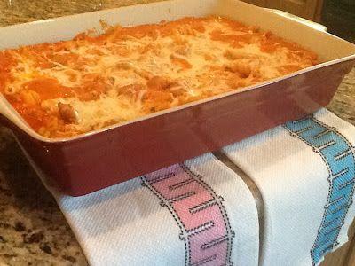 Kitty's Kozy Kitchen: casseroles--Baked Zita