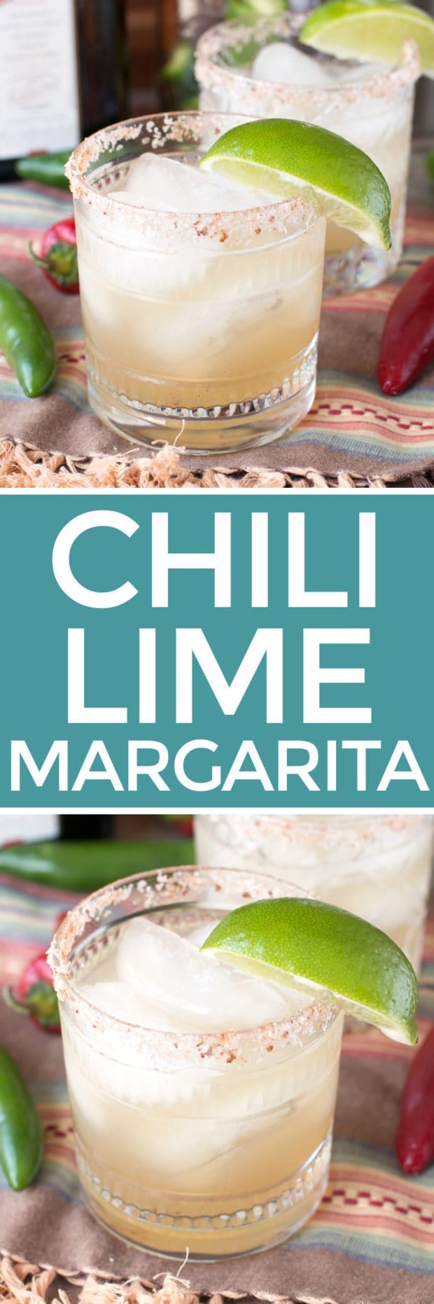 Simple Chili Lime Margarita Recipe - Cake 'n Knife