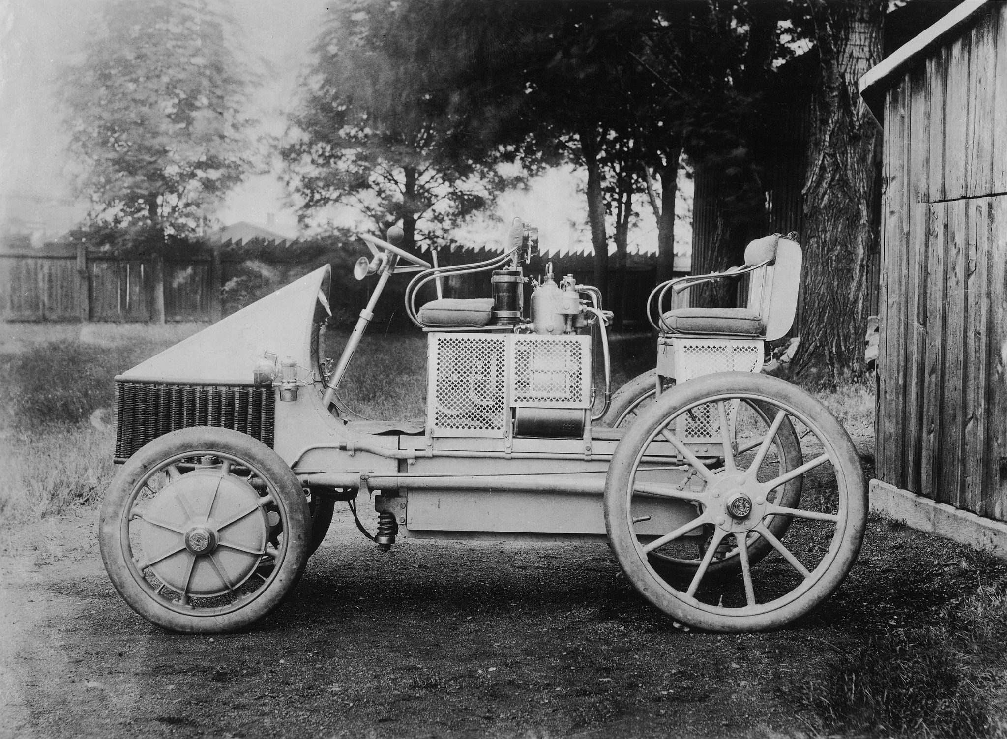 In 1900 Ferdinand Porsche created the first car with a serial hybrid ...
