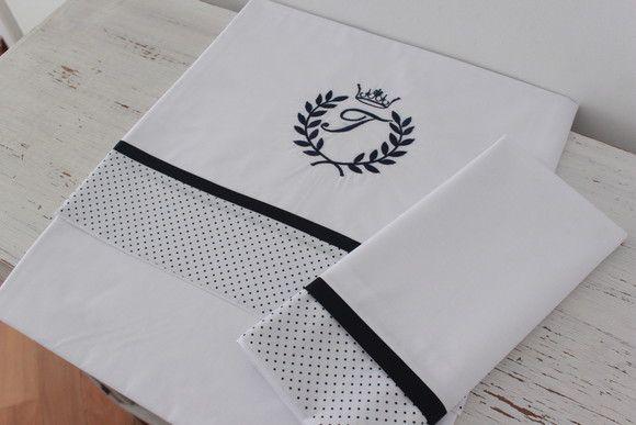 59c3f8aea9 Compre Jogo de lençol para mini cama no Elo7 por R  165