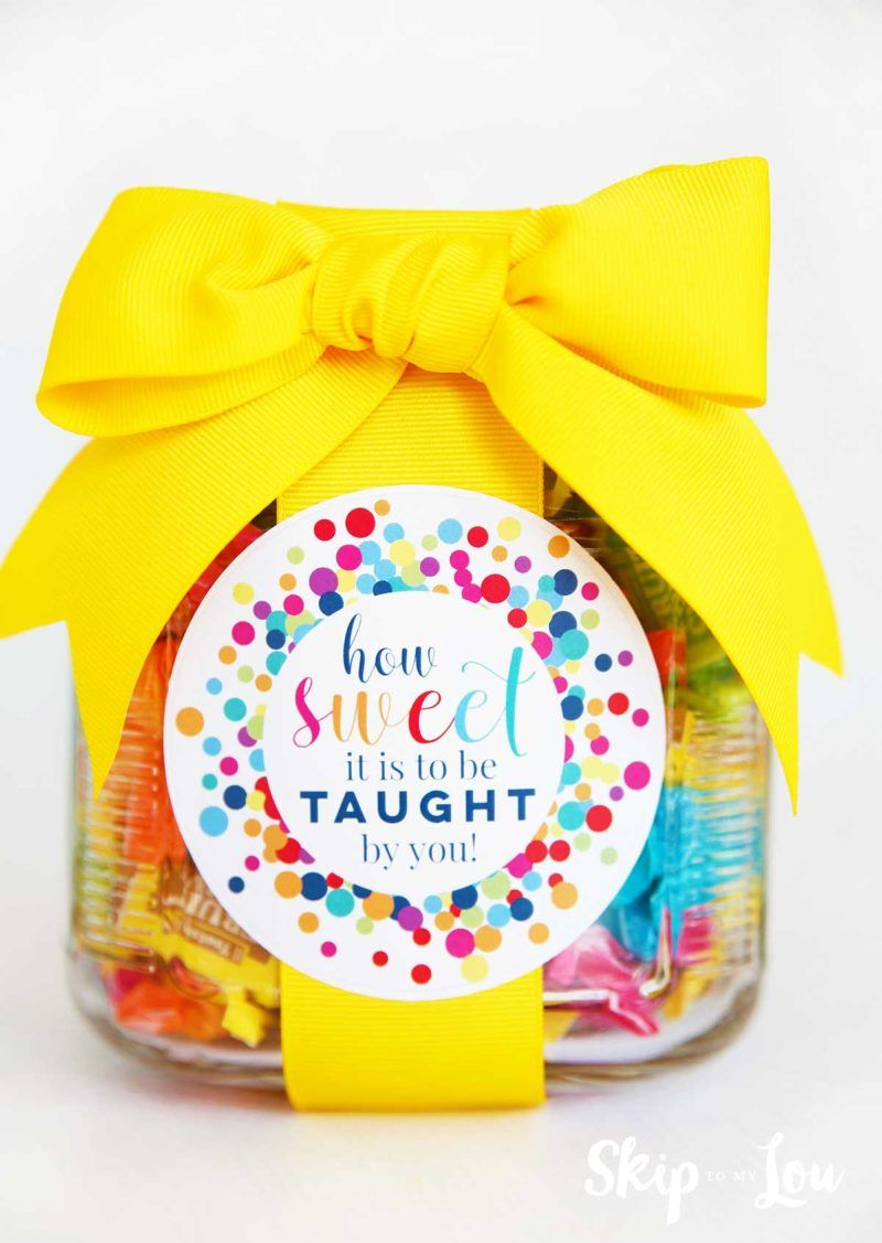 How Sweet It Is to Be Taught by You Teacher Gift #teachergifts