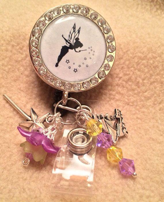 Tinkerbell Inspired Badge Reel