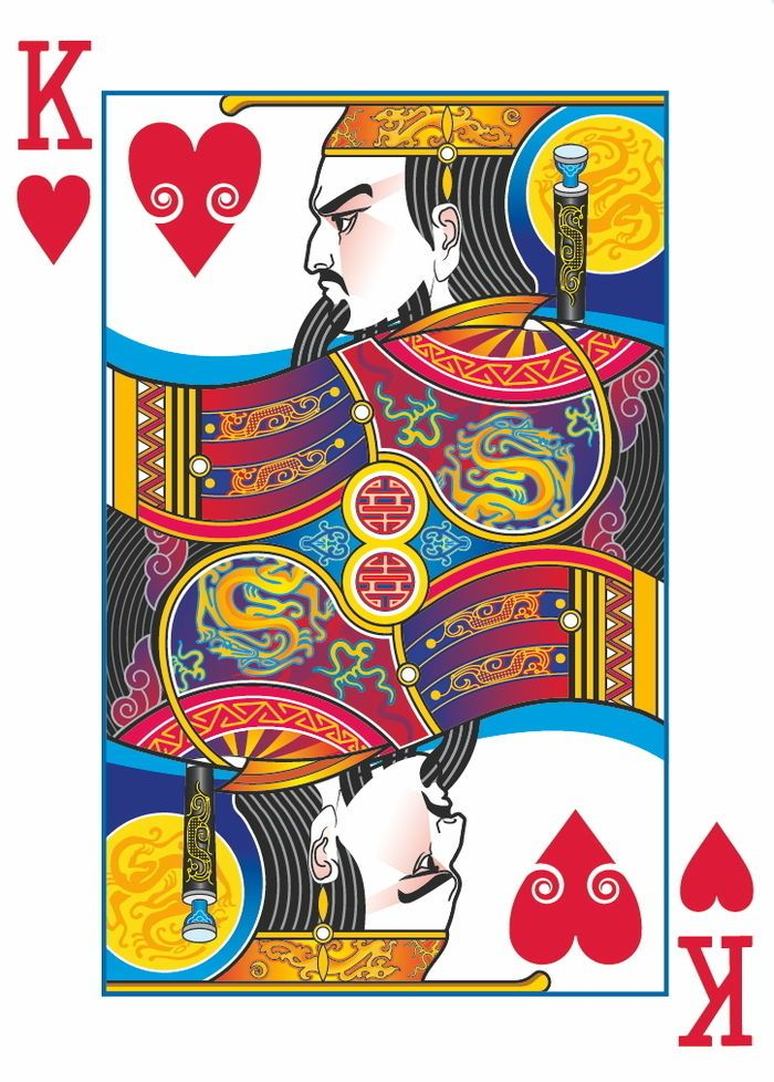 Emperor Deck Playing cards art, Playing cards design