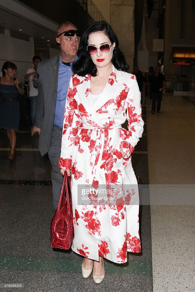 cf0460148002 Dita Von Teese is seen at LAX. on July 03