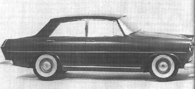OG | FSO Warszawa Ghia | Scale mock-up proposal from Ghia dated 1957