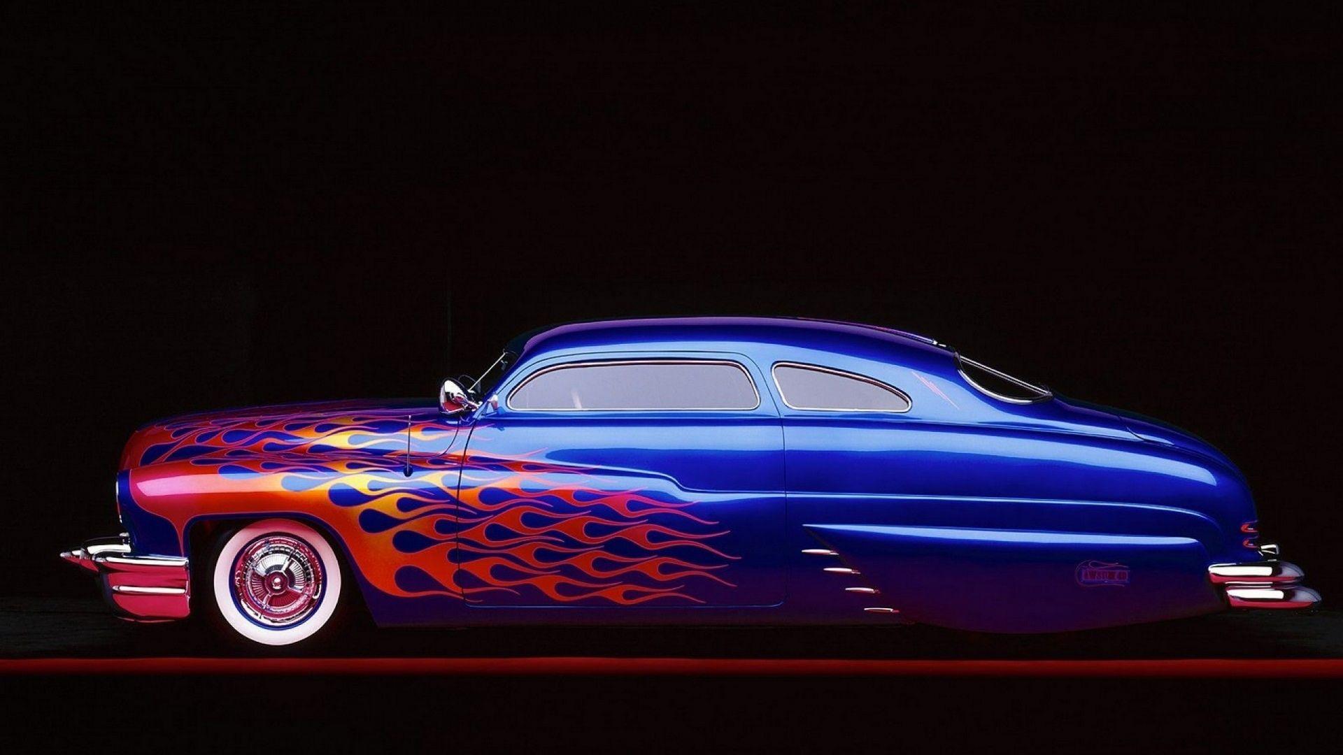 Mercury lowrider retro classic fire custom hot rod rods