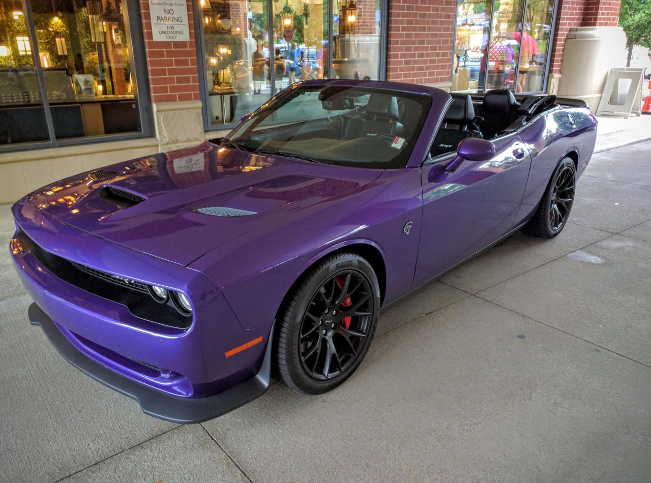 Dodge challenger hellcat convertible done by drop top customs by rousehouse1013