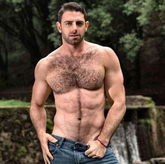 sexy hairy man