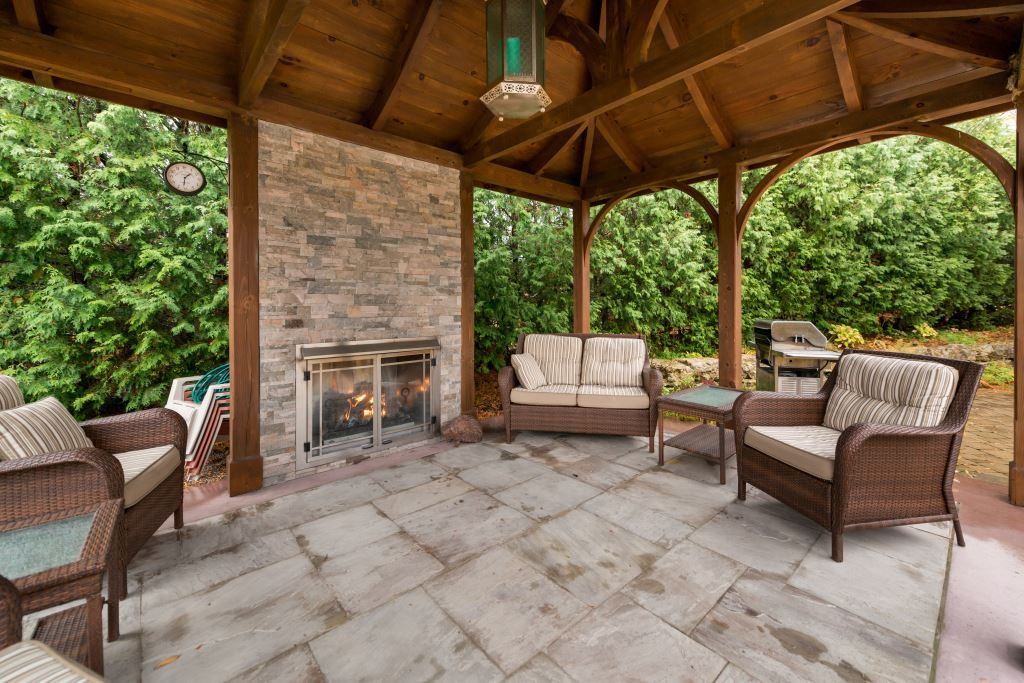 Patio life is not complete without an out door fireplace ... on Complete Outdoor Living id=31736