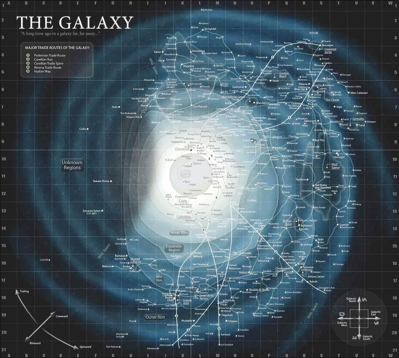 The Galaxy Star System Galaxy Map And Starwars Galaxies - Star wars old republic us map