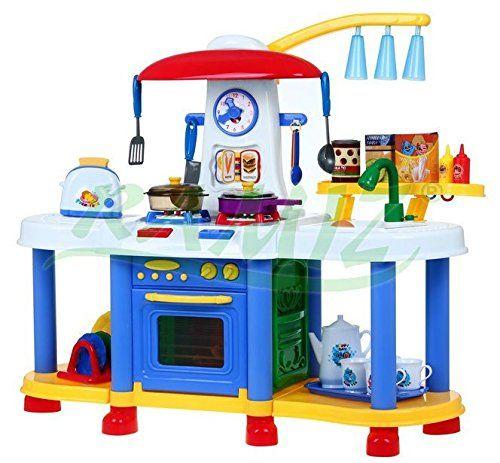 Groß Interaktiv Spielküche Kinderküche Wasser Licht Und