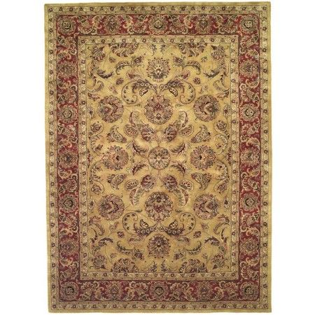 Safavieh Classic CL398A Gold - Red Area Rug   http://www.arearugstyles.com/safavieh-classic-cl398a-gold-red-area-rug.html