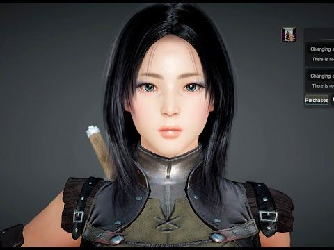 Black Desert Online Kunoichi Ninja Assassin Character Creation Kunoichi Black Assassin