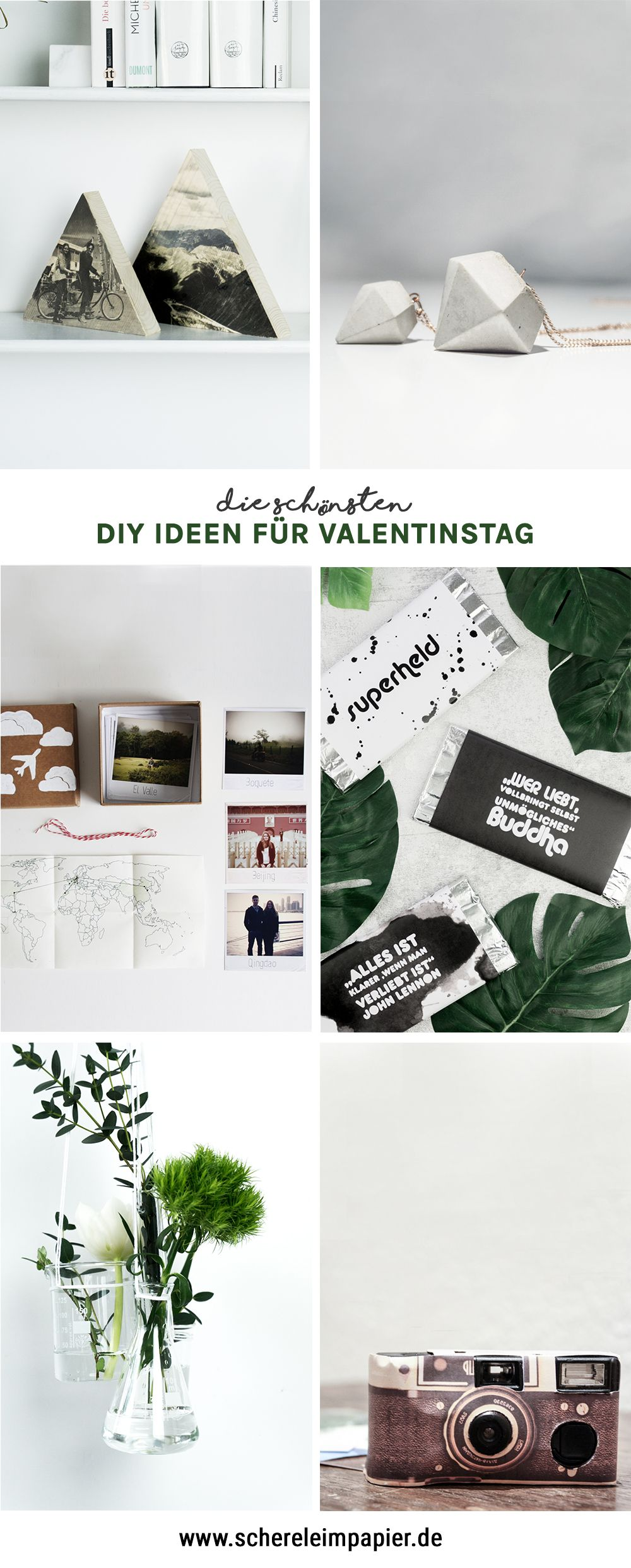 valentinstag geschenke selber machen diy ideen f r die liebe get crafty pinterest. Black Bedroom Furniture Sets. Home Design Ideas