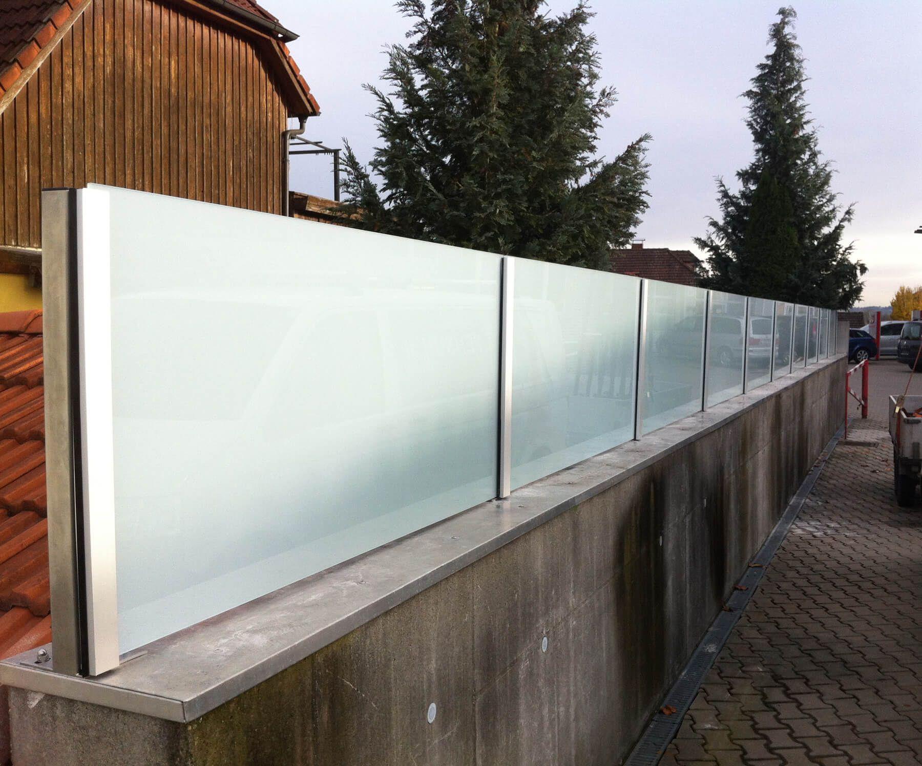 Sichtschutz Aus Glas Mit Milchglasfolie Sichtschutz Glas