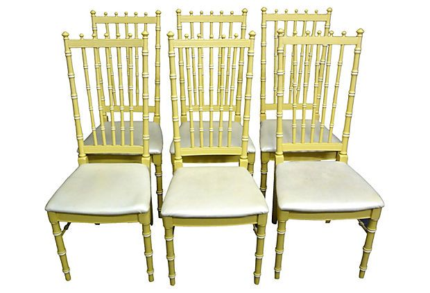 Thomasville Bamboo Style Chairs, S/6 On OneKingsLane.com$1,495, 3