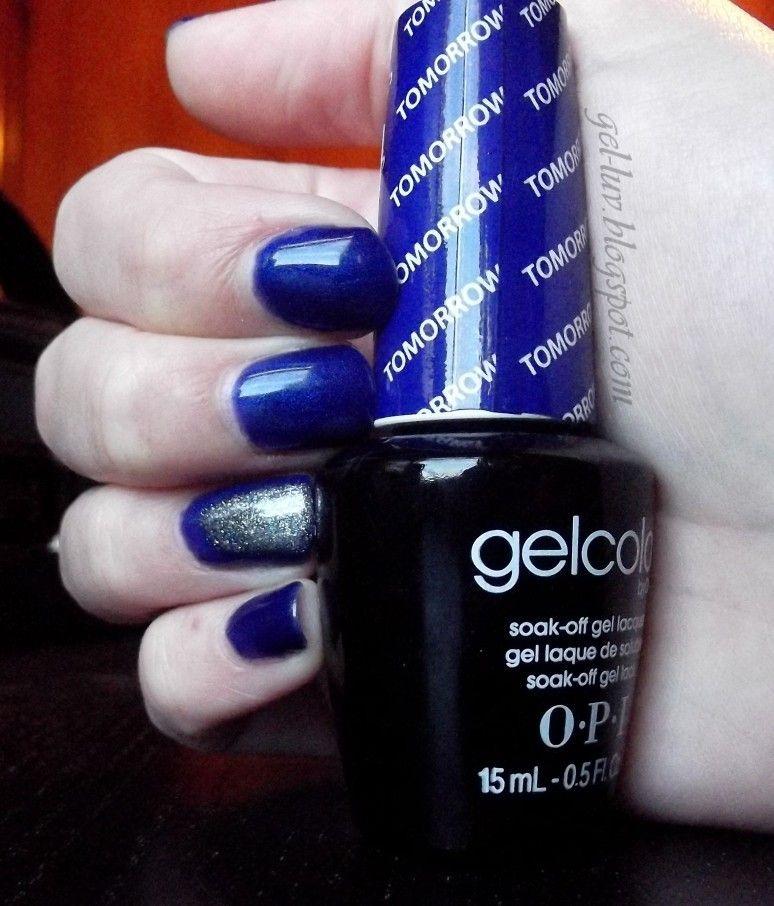 "Click To Make Bigger! OPI Gelcolor SOG Polish In ""Tomorrow"