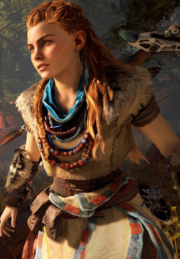 Aloy From Horizon Zero Dawn  Sexy Naked Girls And Femme -7326