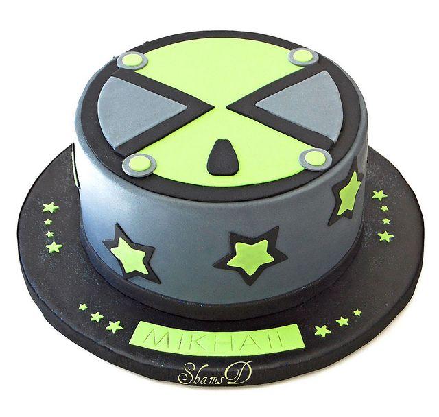Ben 10 Cake, Ben 10 Birthday, 10 Birthday Cake
