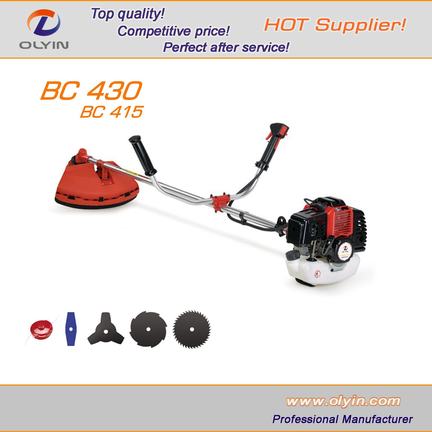 Grass Trimmer Loyal Garden Tools Lawn Mower Weed Brush Cutter Outdooor Trimmer Mower Parts Nylon Easy Load Professional Parts Easy Install Tools