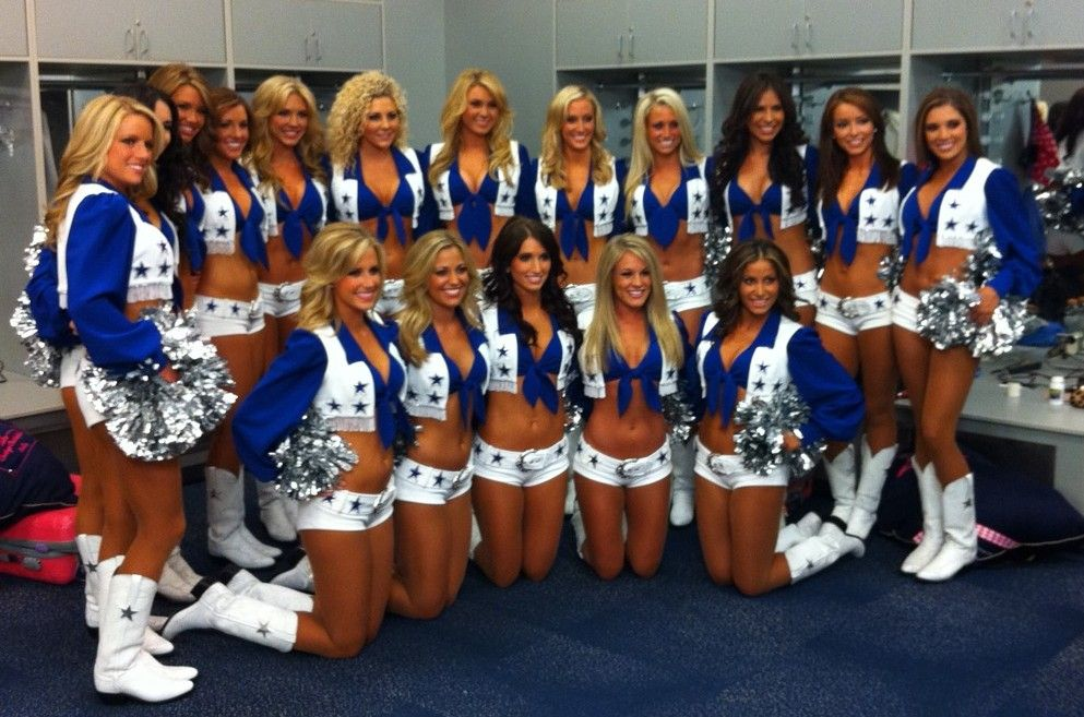 Dallas Cowboys Cheerleaders  The Dallas Cowboys -3380