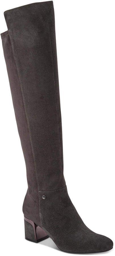 bbc31790057 DKNY Cora Wide Calf Boots