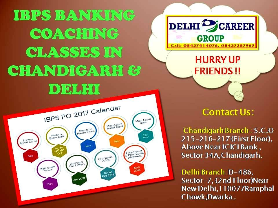 IBPS Banking Coaching Classes in Chandigarh & Delhi DCG