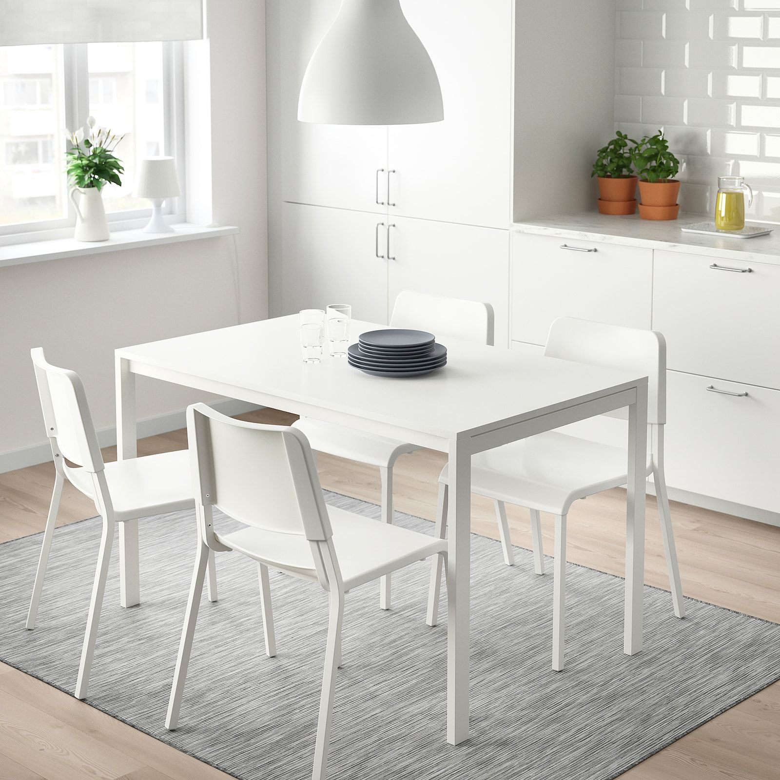 Melltorp Table White 49 1 4x29 1 2 Ikea In 2020 Dining Room
