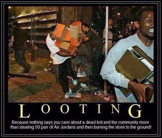 Actual Time magazine headline: Ferguson: In Defense of Rioting