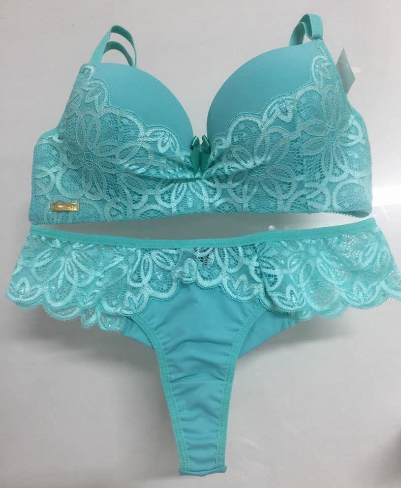 f155bb0ca7 lingerie verde água