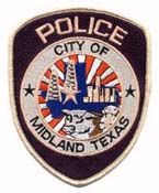 Midland Tx Pd Texas Police Police Patches Police Dept