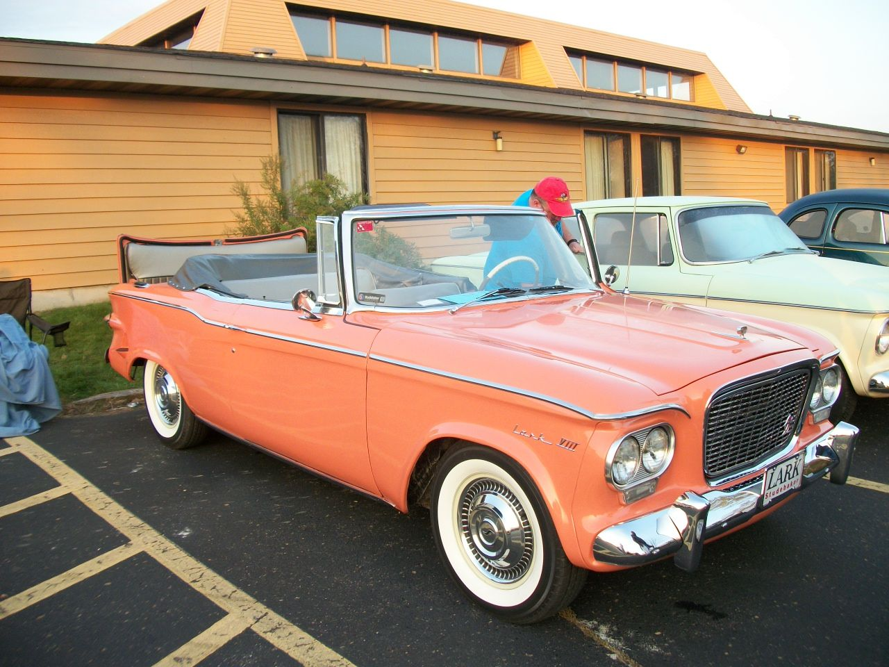 Wisconsin Zone Meet 2014. Rumble seat Lark | Studebakers and other ...