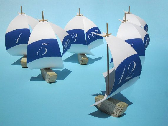 Perfect addition for your wedding in form of sailboat table
