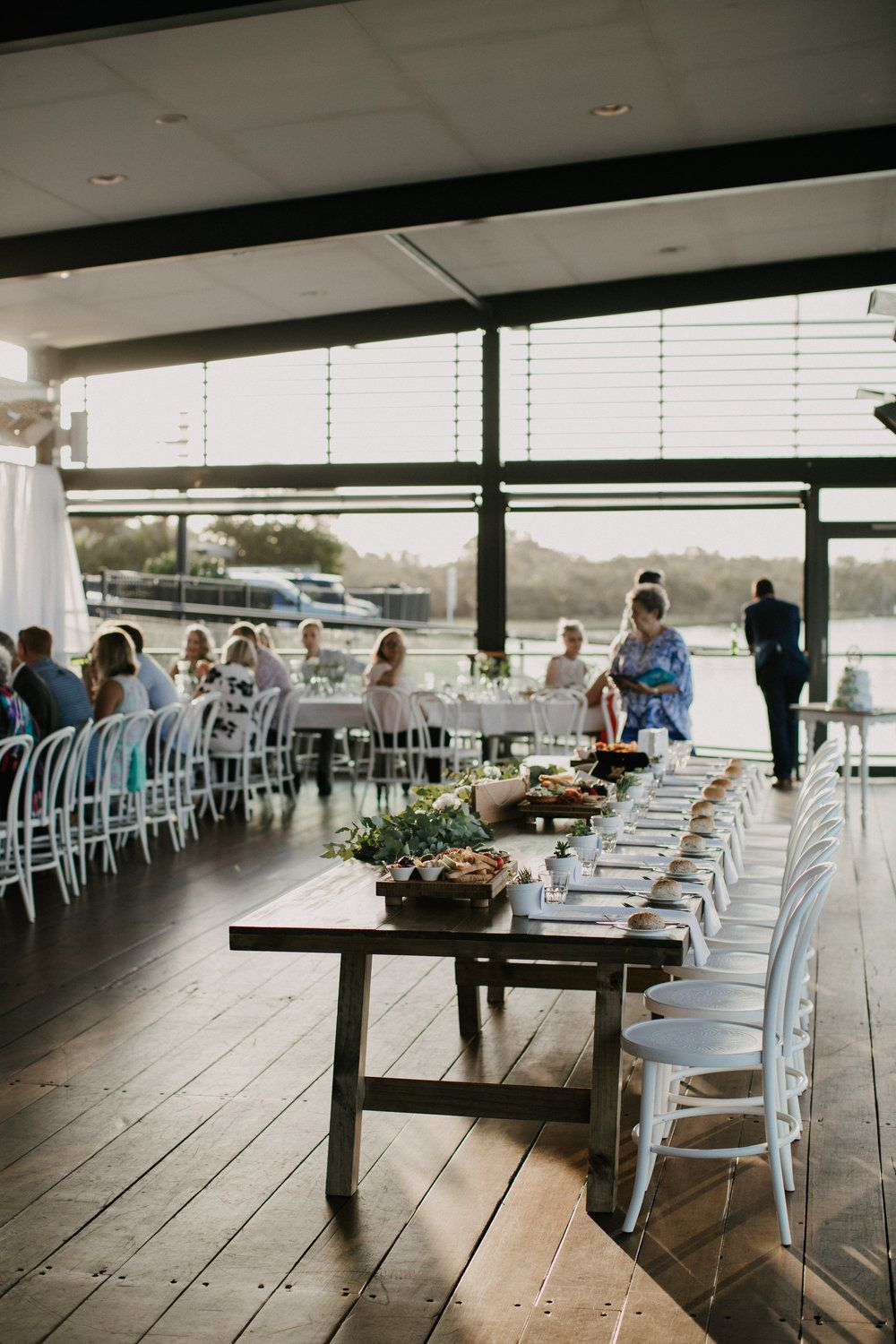 Real wedding reception floral wreath and real weddings yamba wedding jess mitch hampton event hire wedding event hire junglespirit Gallery