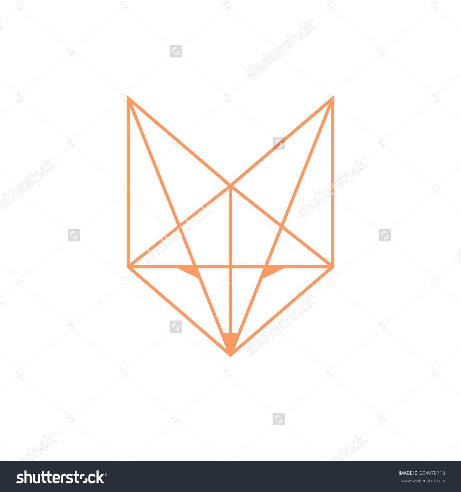 fox geometric - Google Search | Furries | Pinterest ... - photo#42