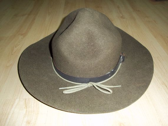 Authentic Boy Scouts Canada Stetson Hat