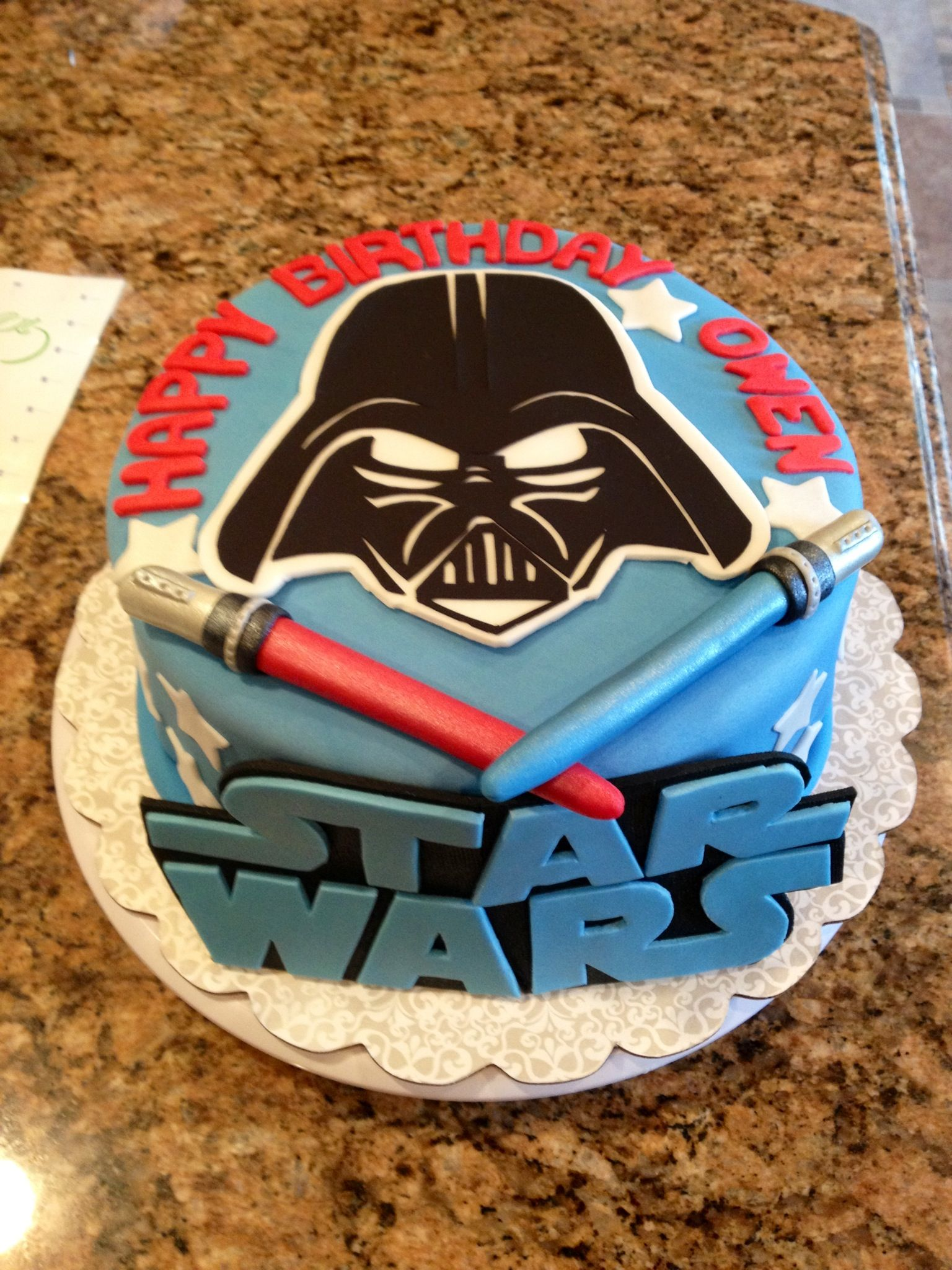star wars cake would rather use yoda face