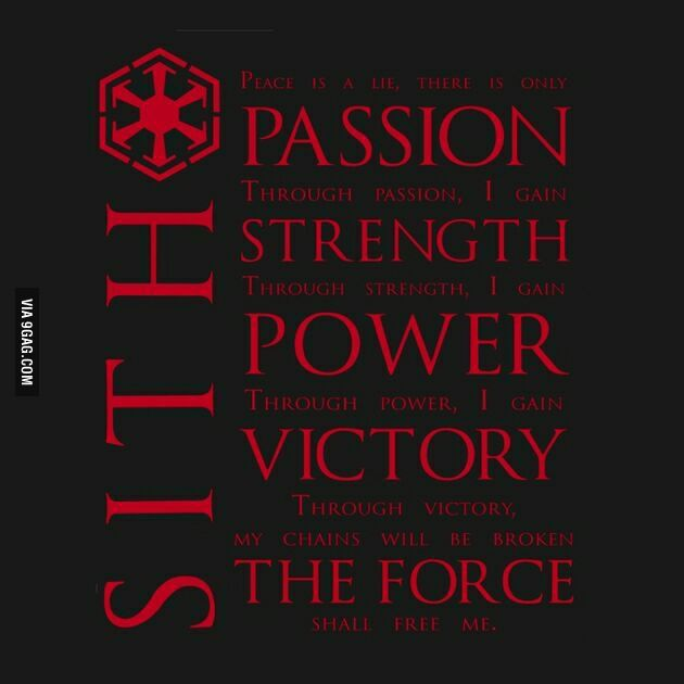 The Sith Code Star Wars Quotes Star Wars Wallpaper Sith
