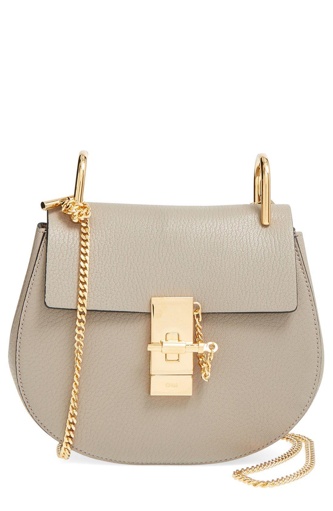chlo 39 small drew 39 leather shoulder bag fashion. Black Bedroom Furniture Sets. Home Design Ideas